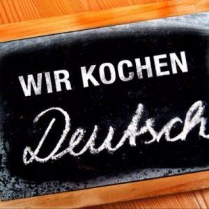 wir kochen Deutsch lecgtii de germana si gatit sanatos