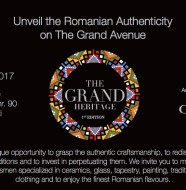 invitatie the Grand Heritage